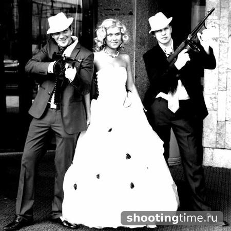 Свадьба в стиле Чикаго 30-х годов - Shooting